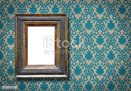istock Ornate Picture Frame (All clipping paths included) 813053138
