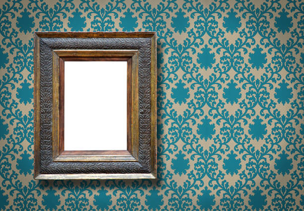 Ornate Picture Frame (All clipping paths included) - foto stock