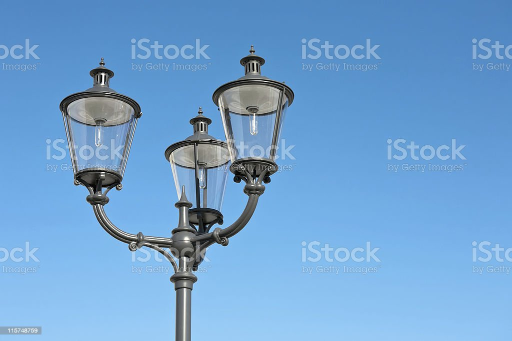 Ornate street lamp royalty-free stock photo