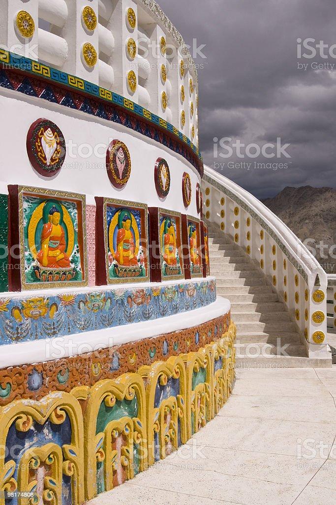 Ornate Stupa royalty-free stock photo