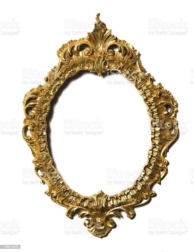 Ornate vintage Picture Frame stock photo