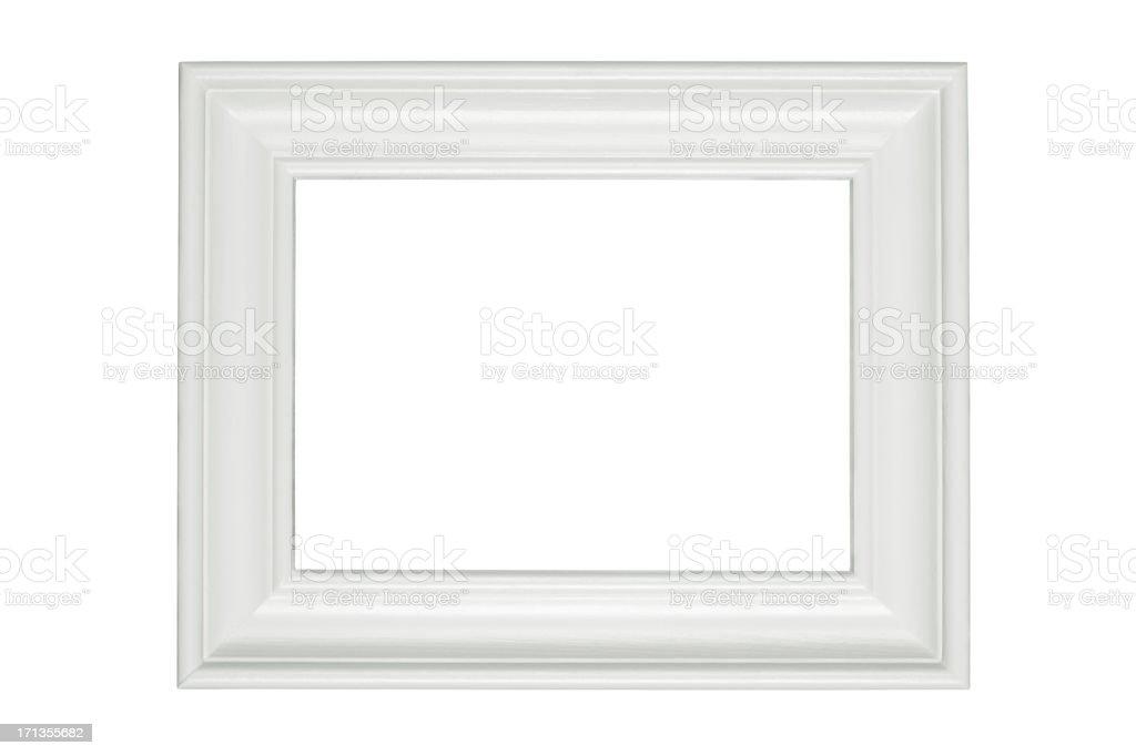Verzierte weiße Rand – Foto