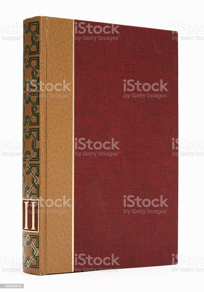 ornated book royalty-free stock photo
