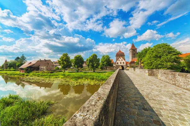 Ornbau und Altmühlbrücke – Foto