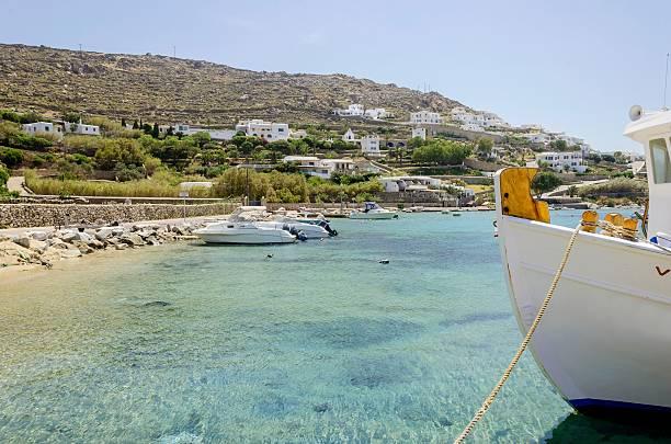 Strand von Ornos, Mykonos, Griechenland – Foto