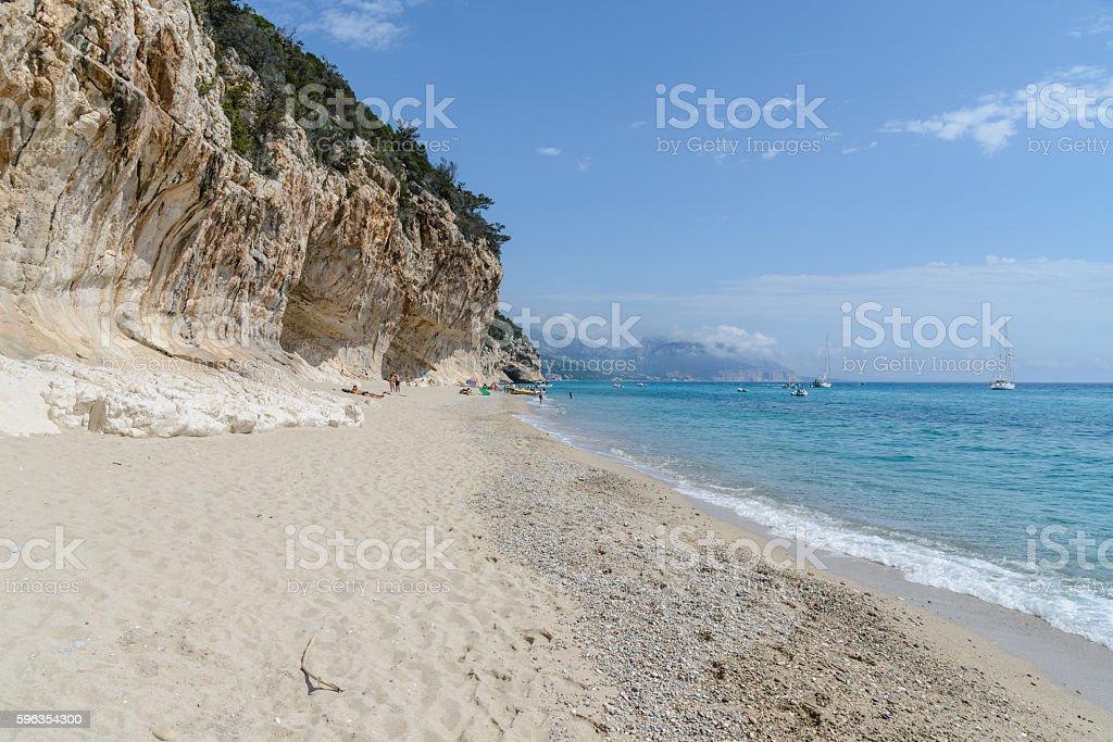 orosei gulf in sardinia, italy royalty-free stock photo