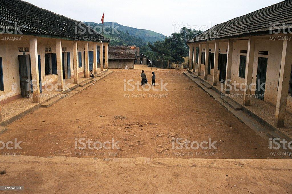 Orphanage in Vietnam stock photo