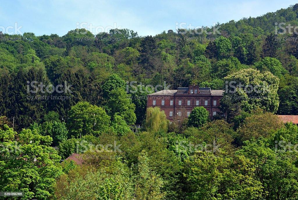 Orphanage  Lahr stock photo