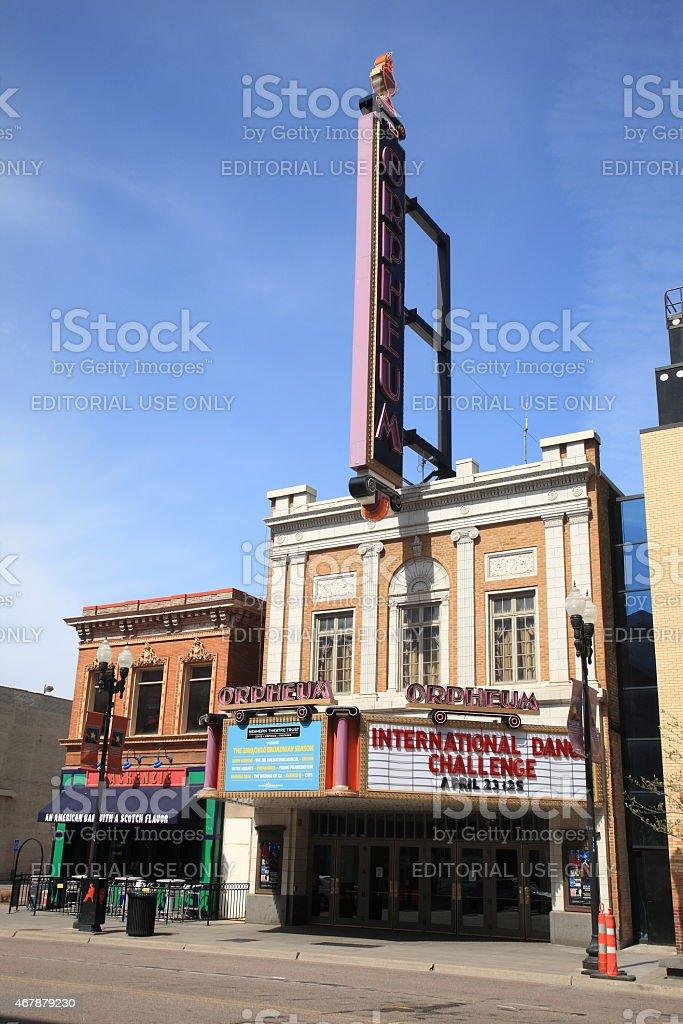 Orpheum Theater - Minneapolis stock photo