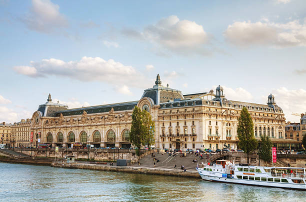 D'Orsay museum in Paris, France stock photo