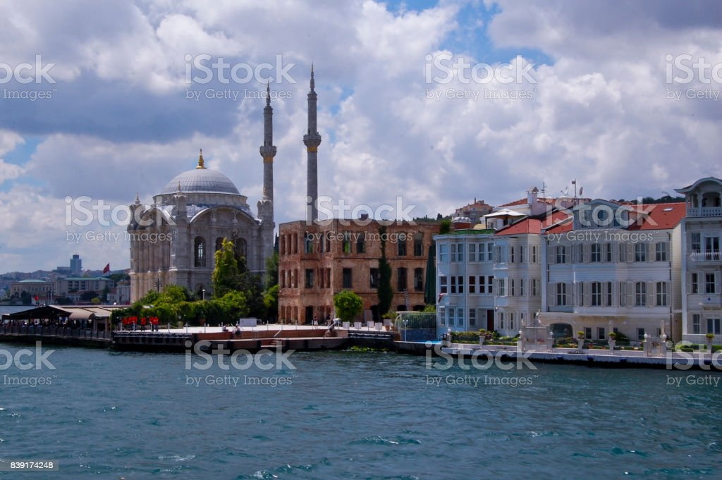 ortaköy stock photo