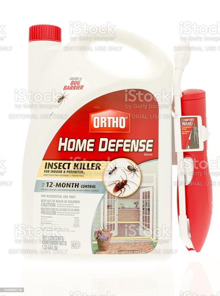 Ortho Home Defense stock photo