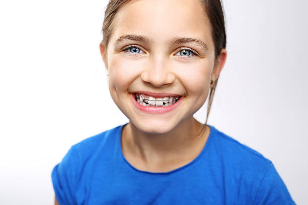 Orthodontics. stock photo