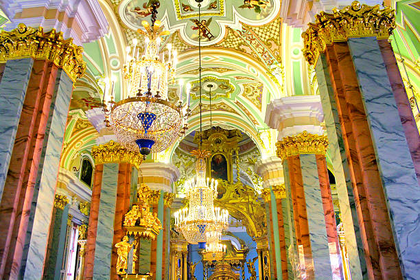 orthodox cathedral - peter the apostle stock photos and pictures