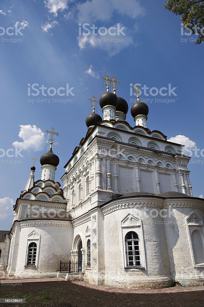 Orthodox Christian Church in Russia royalty-free stock photo
