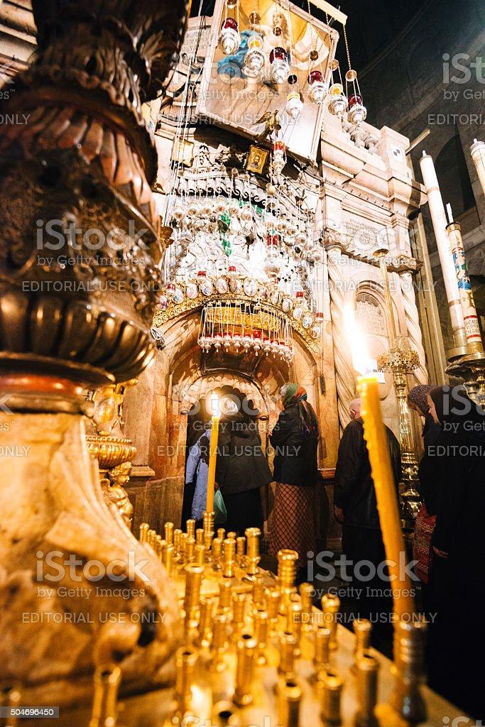 Orthodoxe Weihnachten.Orthodoxe Weihnachten In Kirche Des Heiligen Grabes