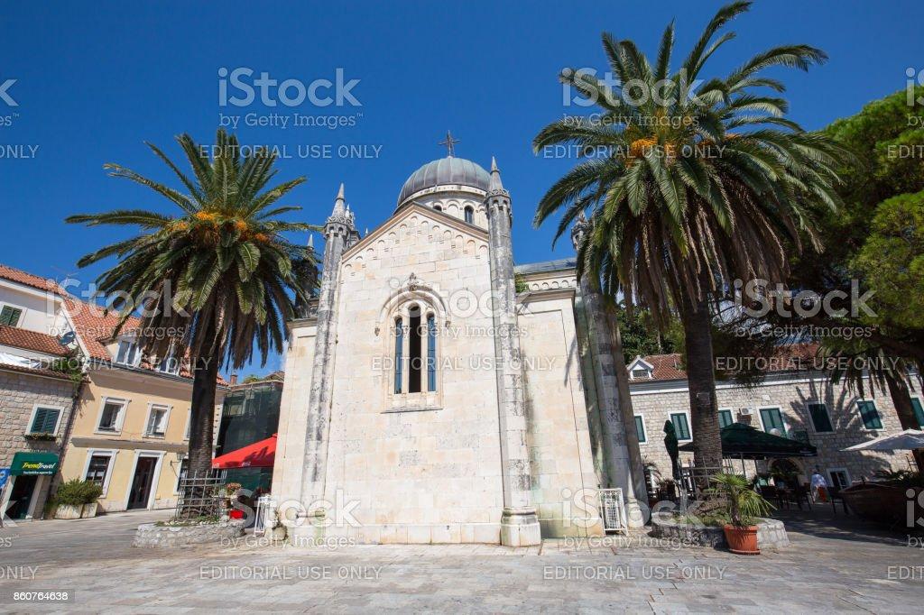 Orthodoxe Kirche des Erzengels Michael in Herceg Novi, Montenegro – Foto