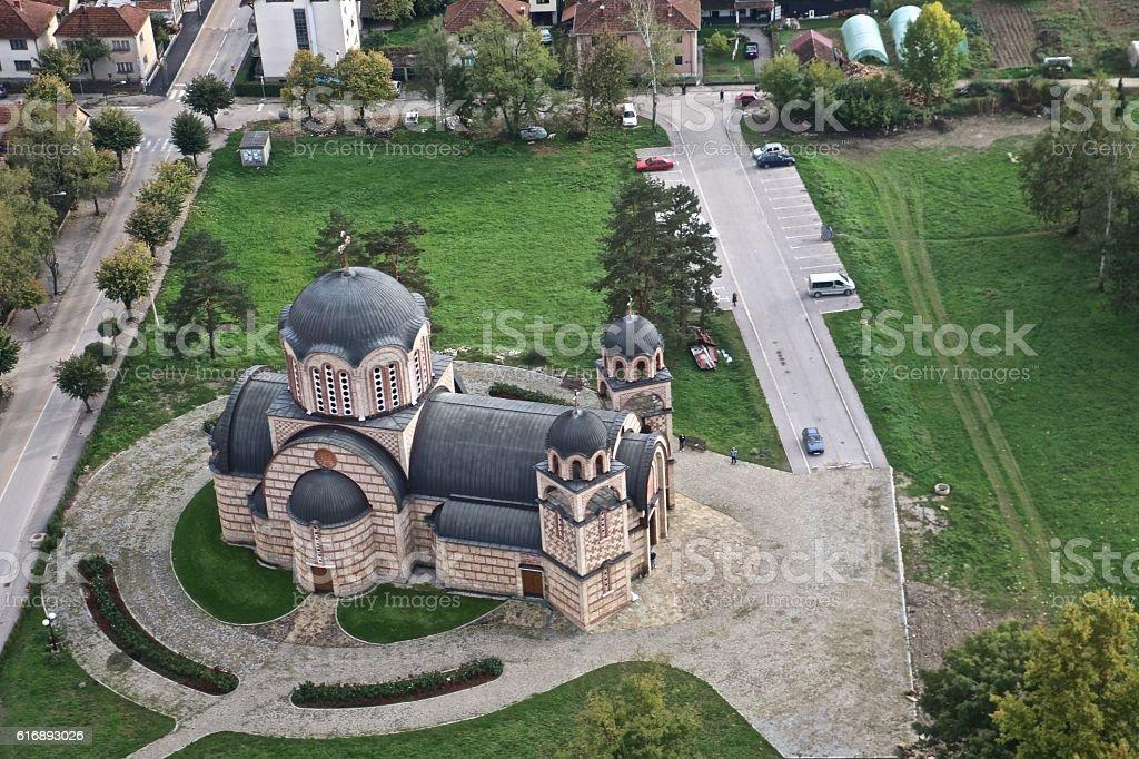 Orthodox Church, Serbia stock photo