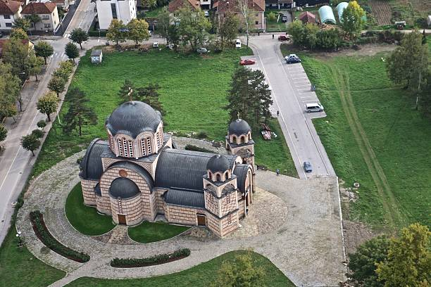 orthodox church, serbia - aleks66 stock pictures, royalty-free photos & images