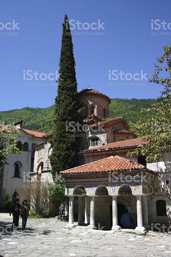 Orthodox Monastery I Views from Bulgaria stock photo