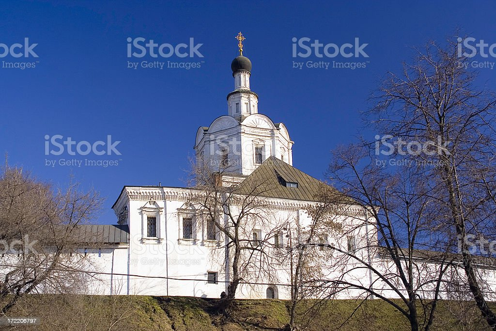 Orthodox monastery royalty-free stock photo
