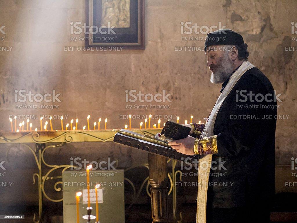 Orthodox priest. royalty-free stock photo