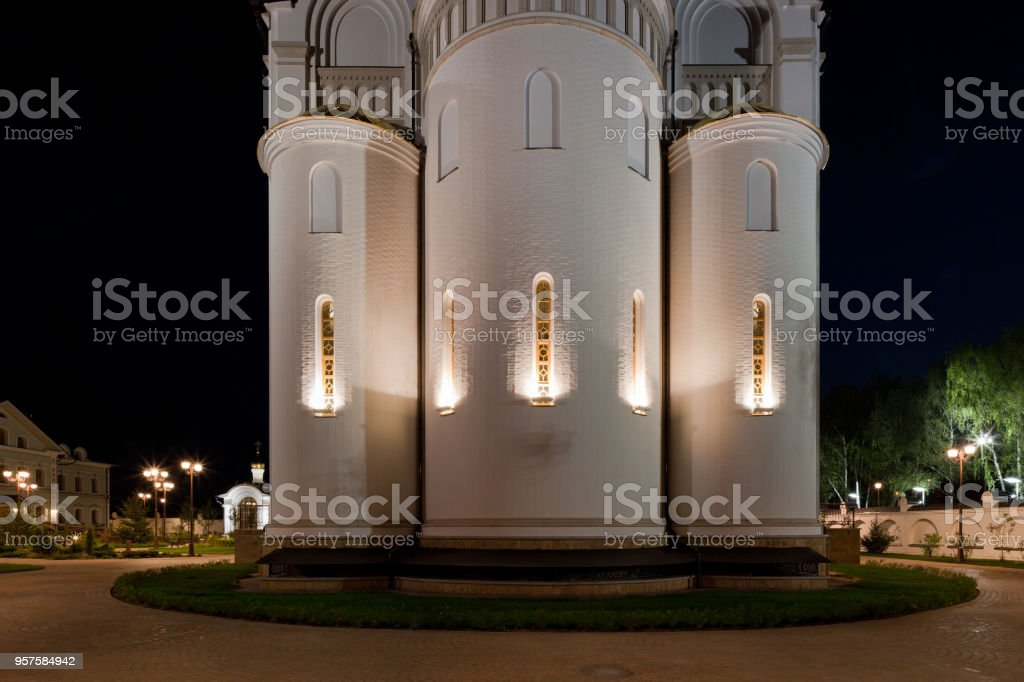 Orthodox temple buildings stock photo
