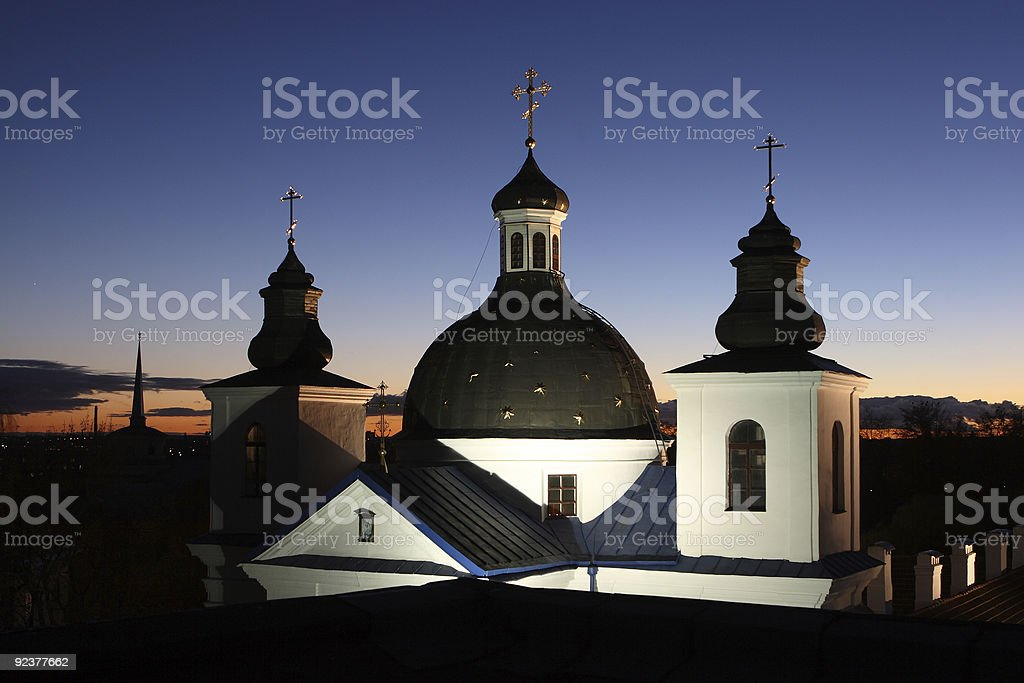 Orthodox temple royalty-free stock photo