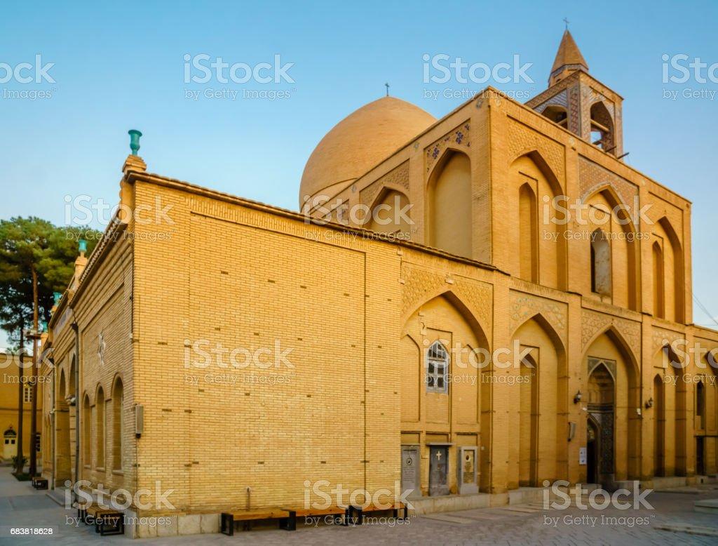 Orthodox Vank church in Isfahan, Iran stock photo
