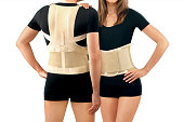 istock Orthopedic lumbar support corset products. Lumbar Support Belts. Posture Corrector For Back Clavicle Spine. Lumbar Waist Support Belt Strong Lower Back Brace Support. 1219851847