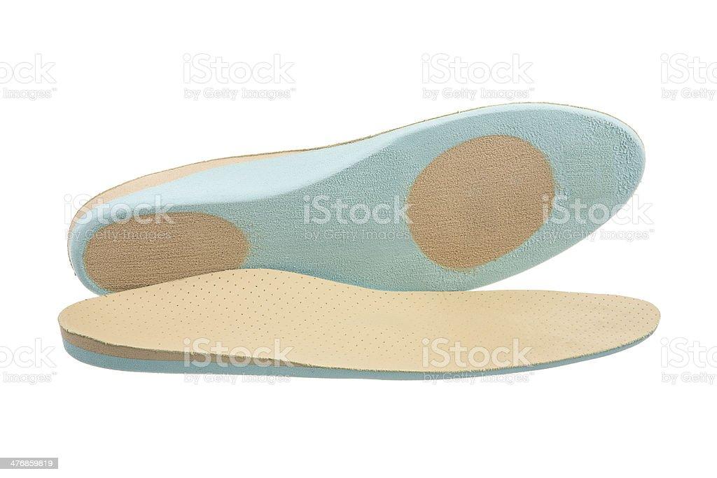 Orthopedic Shoe Insoles stock photo