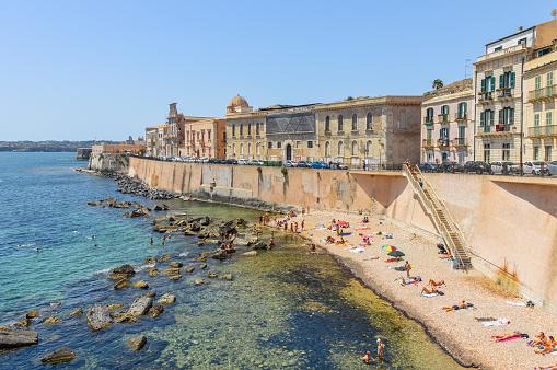 Ortigia Insel In Syrakus Sizilien Italien Stockfoto und mehr Bilder von Alt