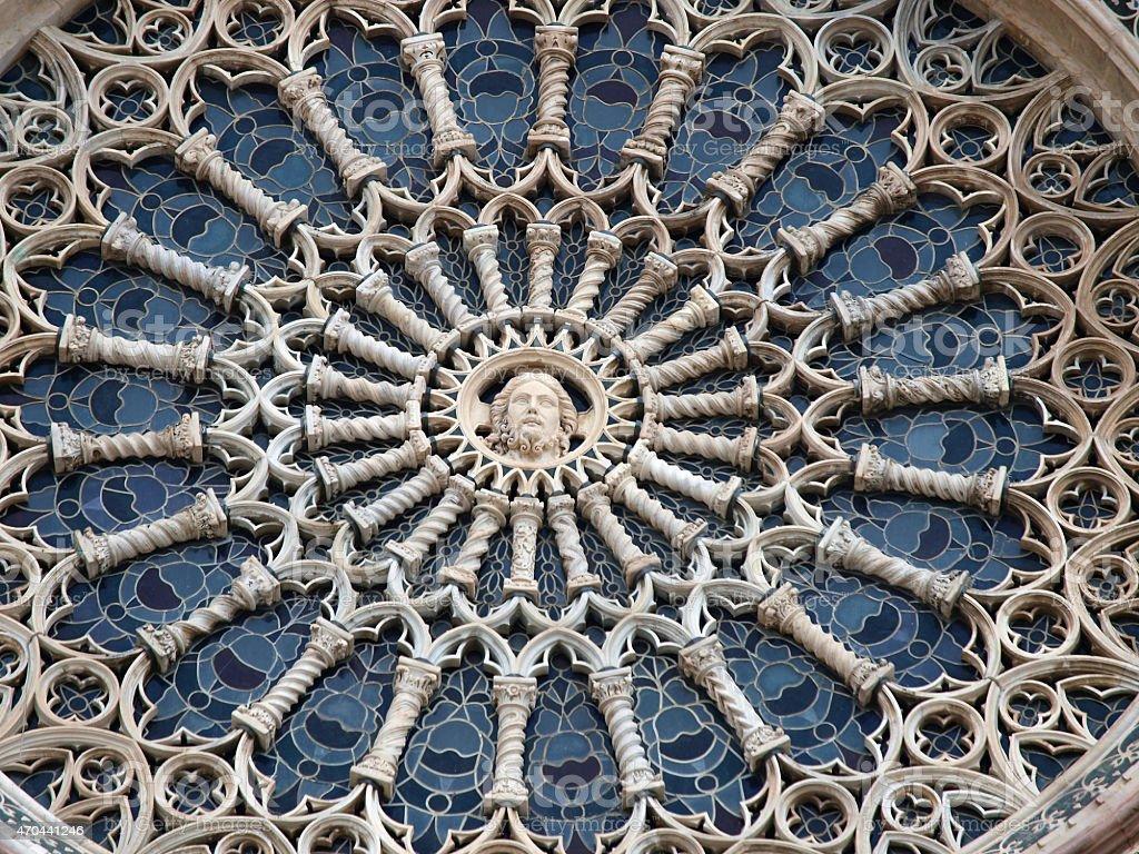 Orvieto - Duomo facade. stock photo