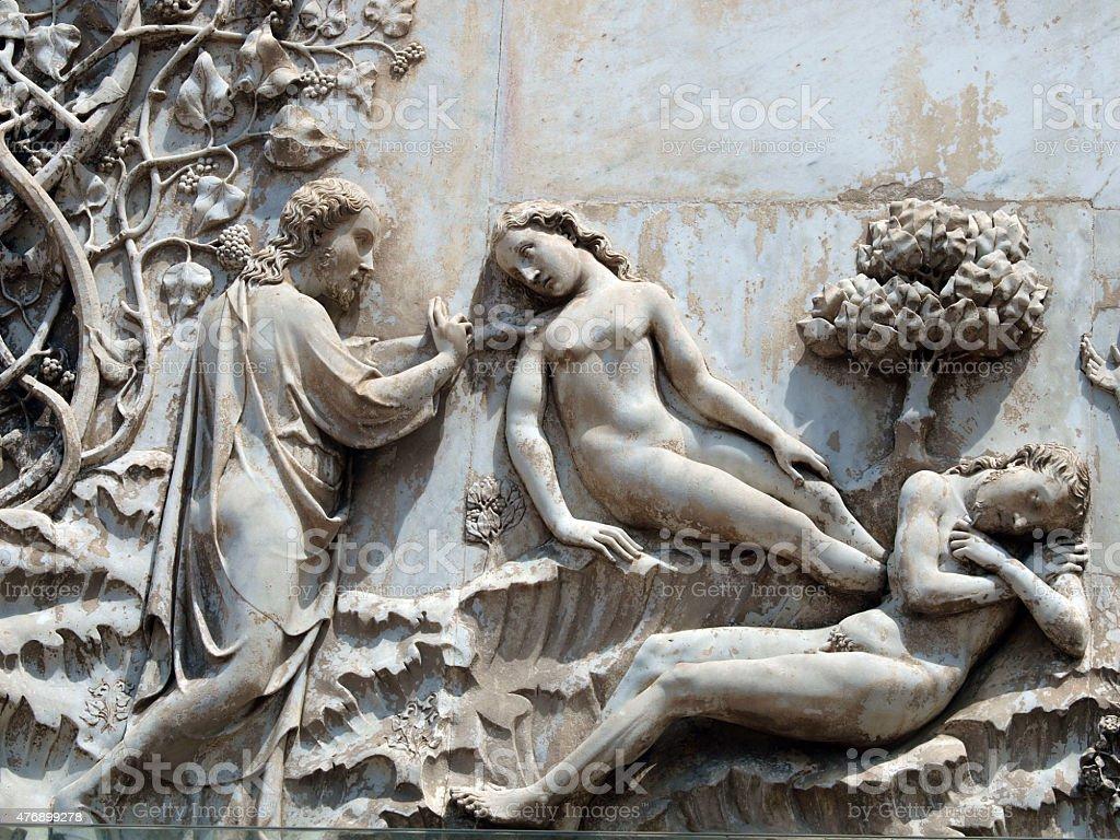 Orvieto-Dom Fassade – Foto