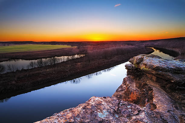 Osage River at Twilight