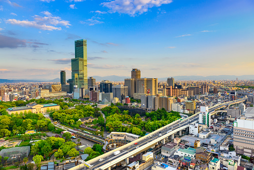 Osaka Japan Cityscape