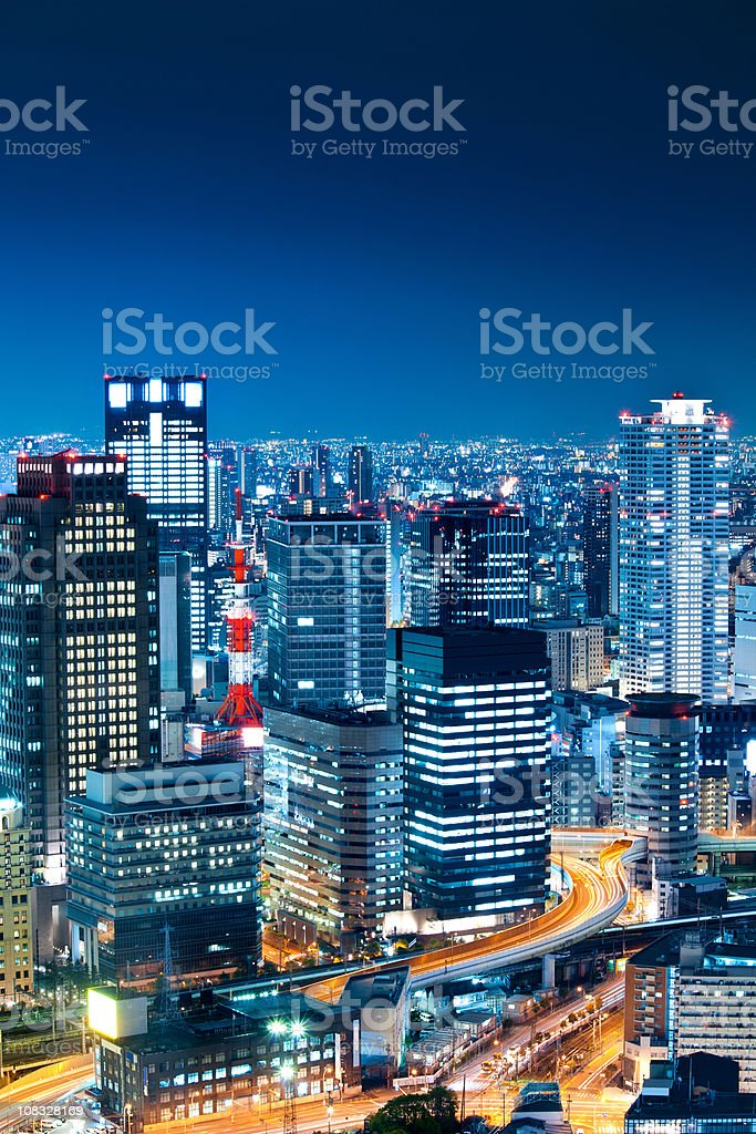 Osaka, Japan royalty-free stock photo