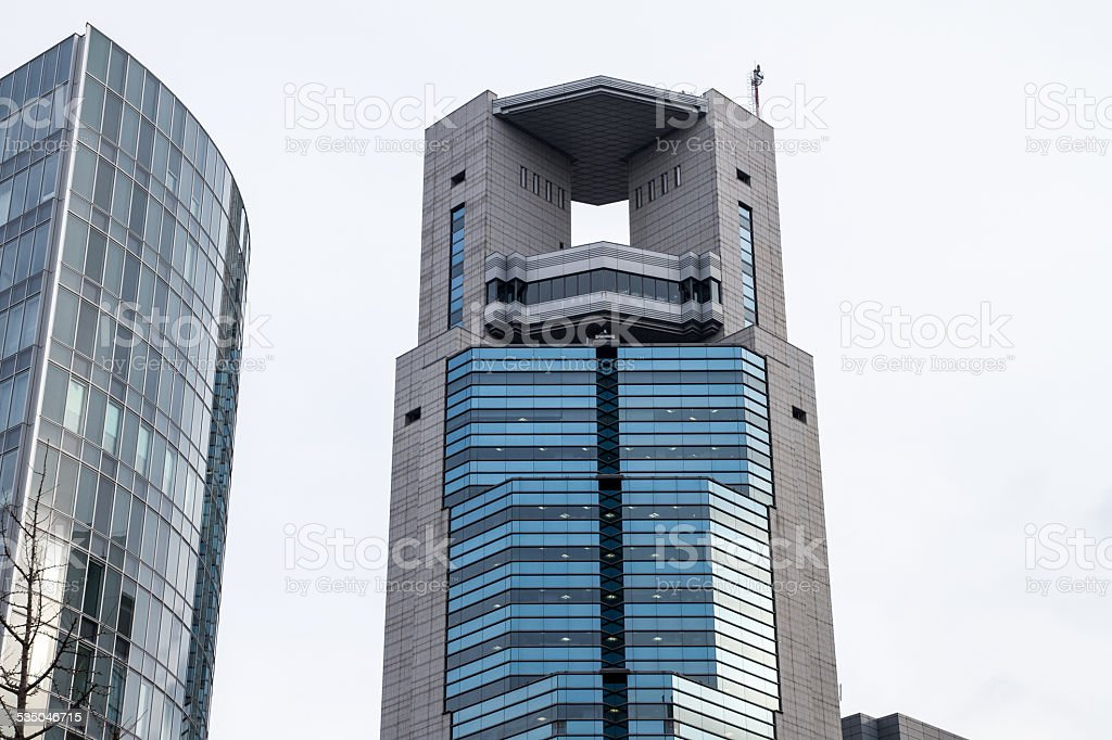 Osaka Skyscraper stock photo