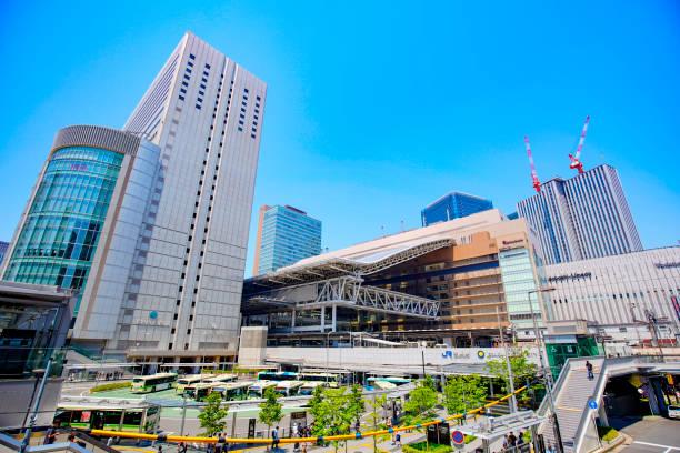 Osaka Station in Osaka Umeda Japan – Foto