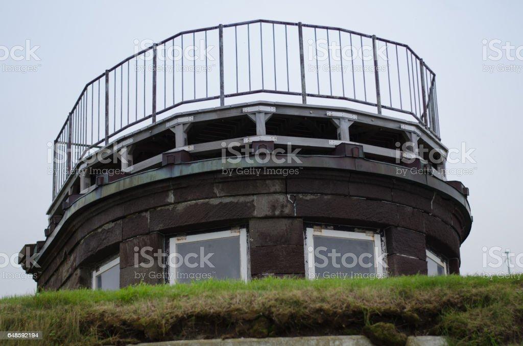 Osaki Former Japanese Army Watchtower stock photo