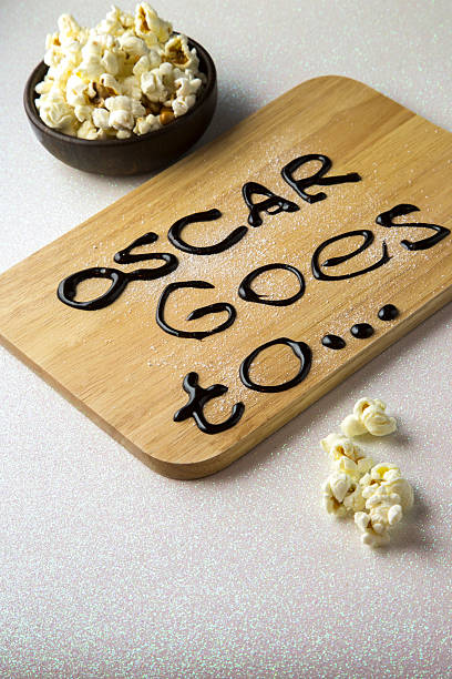 oscar award - oscar filme stock-fotos und bilder