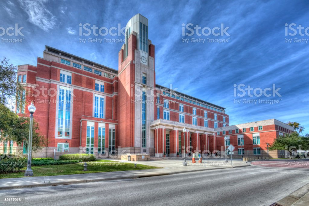 Osceola County Courthouse Building stock photo