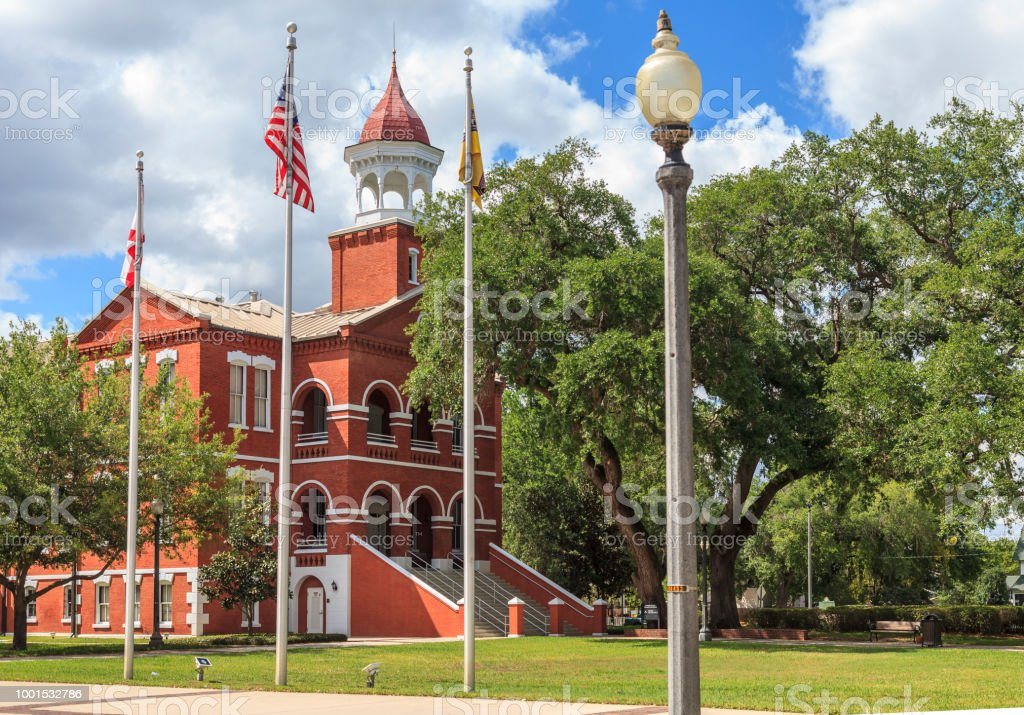 Osceola County Courthouse stock photo
