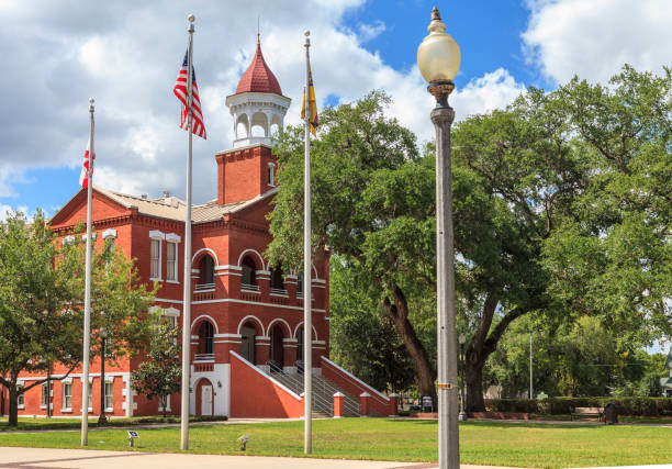 osceola county courthouse - kissimmee stock photos and pictures