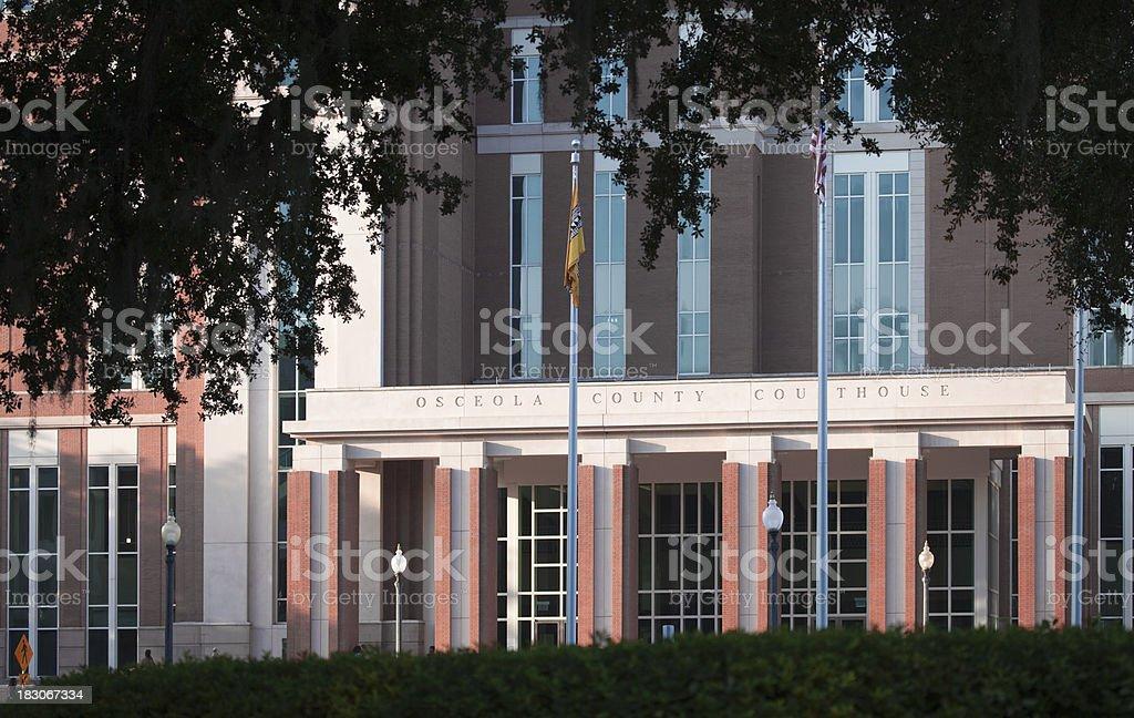 Tribunal do Condado de Osceola - foto de acervo