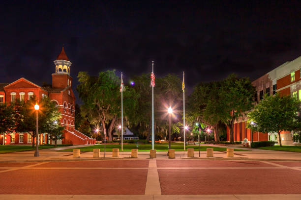 osceola county courthouse square - kissimmee stock photos and pictures