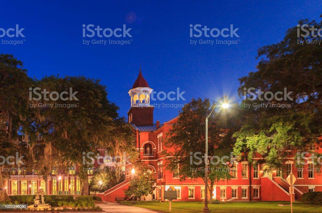 Osceola County Florida Courthouse Square stock photo
