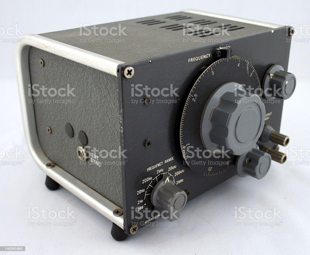 Oscillator stock photo