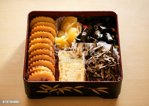istock Osechi Japanese New Year's meal  618194880