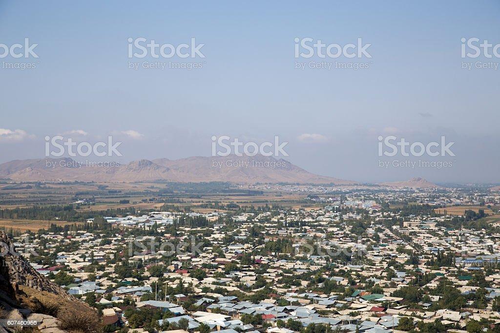 Osh city skyline stock photo